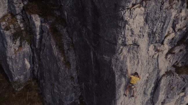 A nice report on the Denti della Vecchia and on our two rock guides from Ticino!
